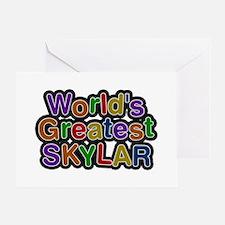 World's Greatest Skylar Greeting Card