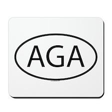AGA Mousepad