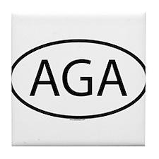 AGA Tile Coaster