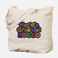 Worlds Greatest Rocco Tote Bag