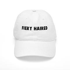 Fiery haired Baseball Cap