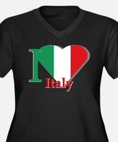I love Italy Plus Size T-Shirt