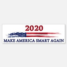 Make America Smart Again Bumper Bumper Bumper Sticker