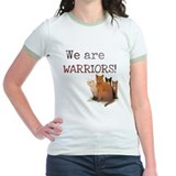 Warrior cat Jr. Ringer T-Shirt