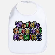Worlds Greatest Ramiro Baby Bib