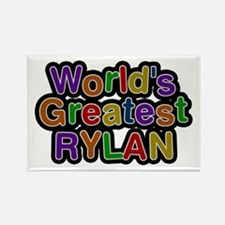 World's Greatest Rylan Rectangle Magnet