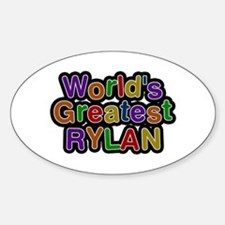 World's Greatest Rylan Oval Decal