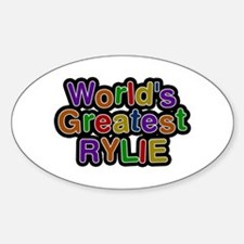 World's Greatest Rylie Oval Decal