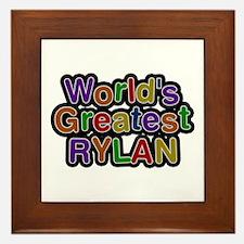 World's Greatest Rylan Framed Tile