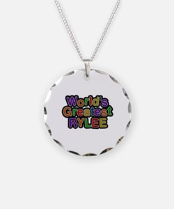 World's Greatest Rylee Necklace Circle Charm