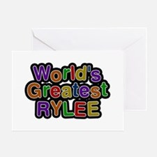 World's Greatest Rylee Greeting Card
