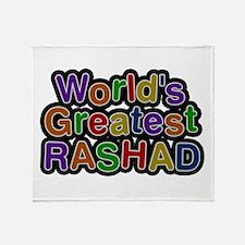 World's Greatest Rashad Throw Blanket