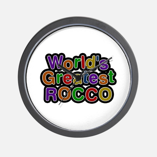 World's Greatest Rocco Wall Clock