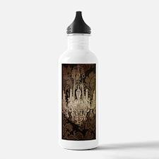 steampunk damask vinta Water Bottle