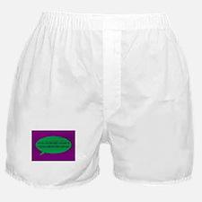 Binary Bubble Boxer Shorts