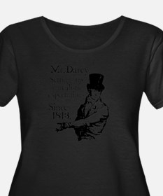 Mr. Darcy Plus Size T-Shirt