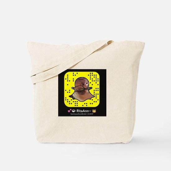 RitaAnn~ Snap code Tote Bag