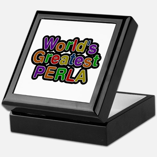 World's Greatest Perla Keepsake Box
