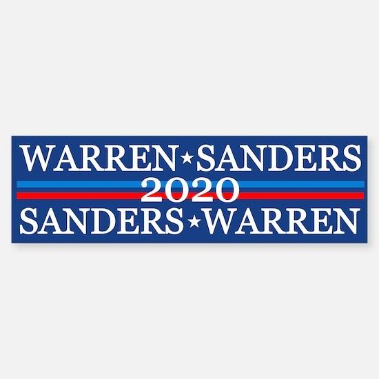 Warren Sanders 2020 Bumper Bumper Bumper Sticker