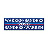 """Bernie sanders elizabeth warren for president 3"""" x 10"""""""