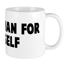 Every man for himself Small Mug