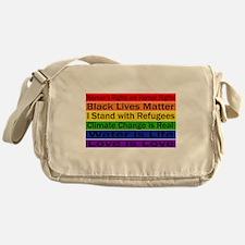 Political Protest Messenger Bag