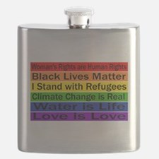 Political Protest Flask