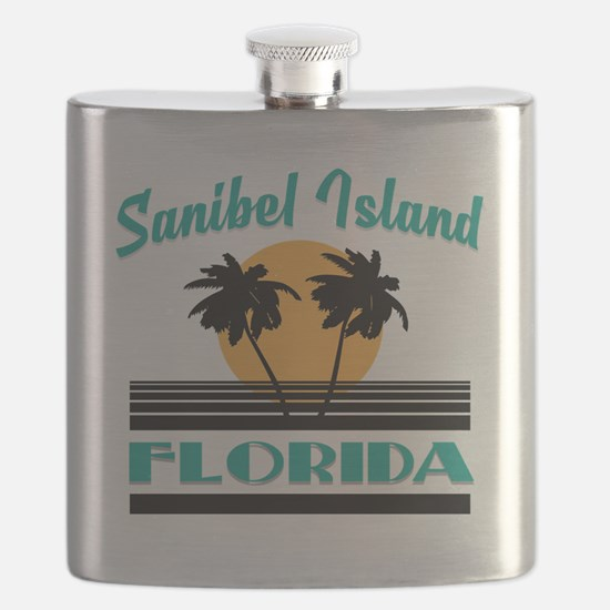 Unique Sanibel island florida Flask