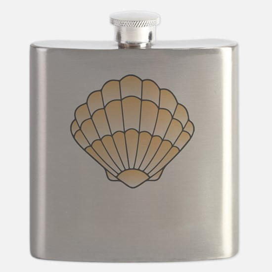 Cute Sanibel island florida Flask