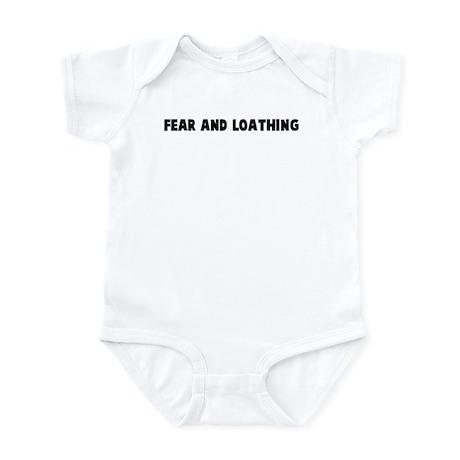 Fear and loathing Infant Bodysuit