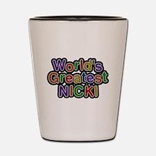 Worlds Greatest Nicki Shot Glass