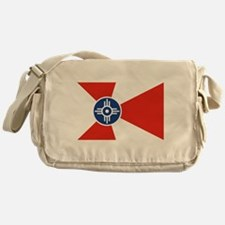Wichita ICT Flag Messenger Bag