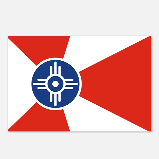 Wichita ICT Flag Postcards (Package of 8)