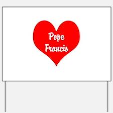 I love Pope Francis...build bridges, not walls Yar