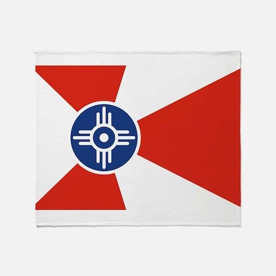 Wichita ICT Flag Throw Blanket