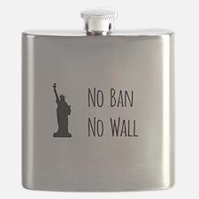 No Ban No Wall Flask