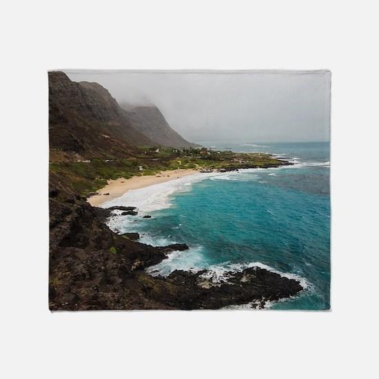 Makapu'u Beach Throw Blanket