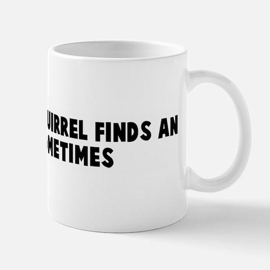 Even a blind squirrel finds a Mug