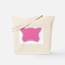 Blank Pink Hat Tote Bag