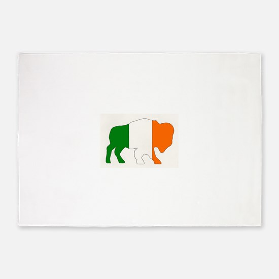 Irish Buffalo 5'x7'Area Rug