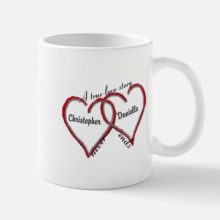 A true love story: personalize Mugs