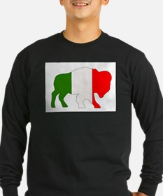 Italian Buffalo Long Sleeve T-Shirt