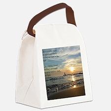 Lighthouse Canvas Lunch Bag