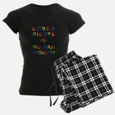 LGBTQ RIGHTS... pajamas