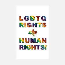 LGBTQ RIGHTS... Decal