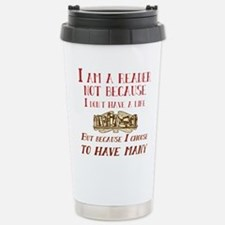 I am a reader and have Stainless Steel Travel Mug