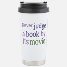 Never judge a book by i Stainless Steel Travel Mug