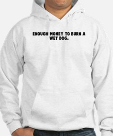 Enough money to burn a wet do Hoodie