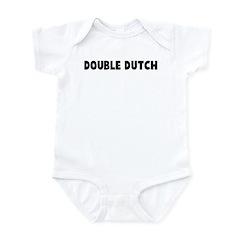 Double dutch Infant Bodysuit