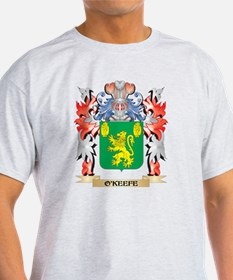 O'Keefe Coat of Arms - Family Crest T-Shirt